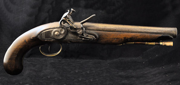 A Pistol by Theophilus Richards of Birmingham