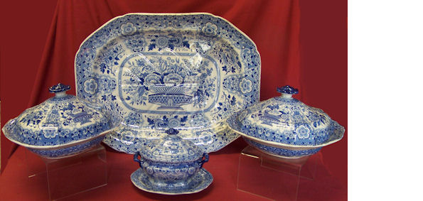 Early 19th Century Dinner Service by Andrew Stevenson